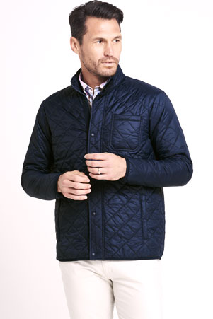 Primaloft Packable Walking Jacket 496096: Classic Navy